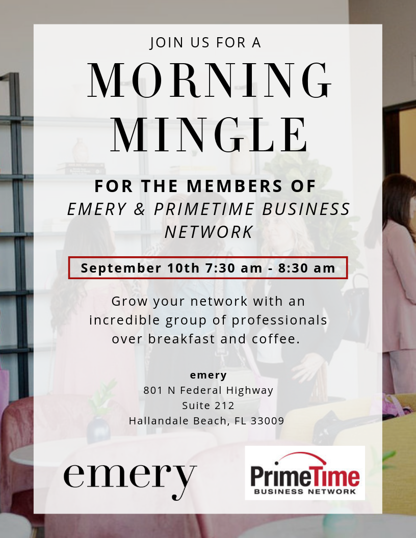 Morning Mingle with Primetime Business network