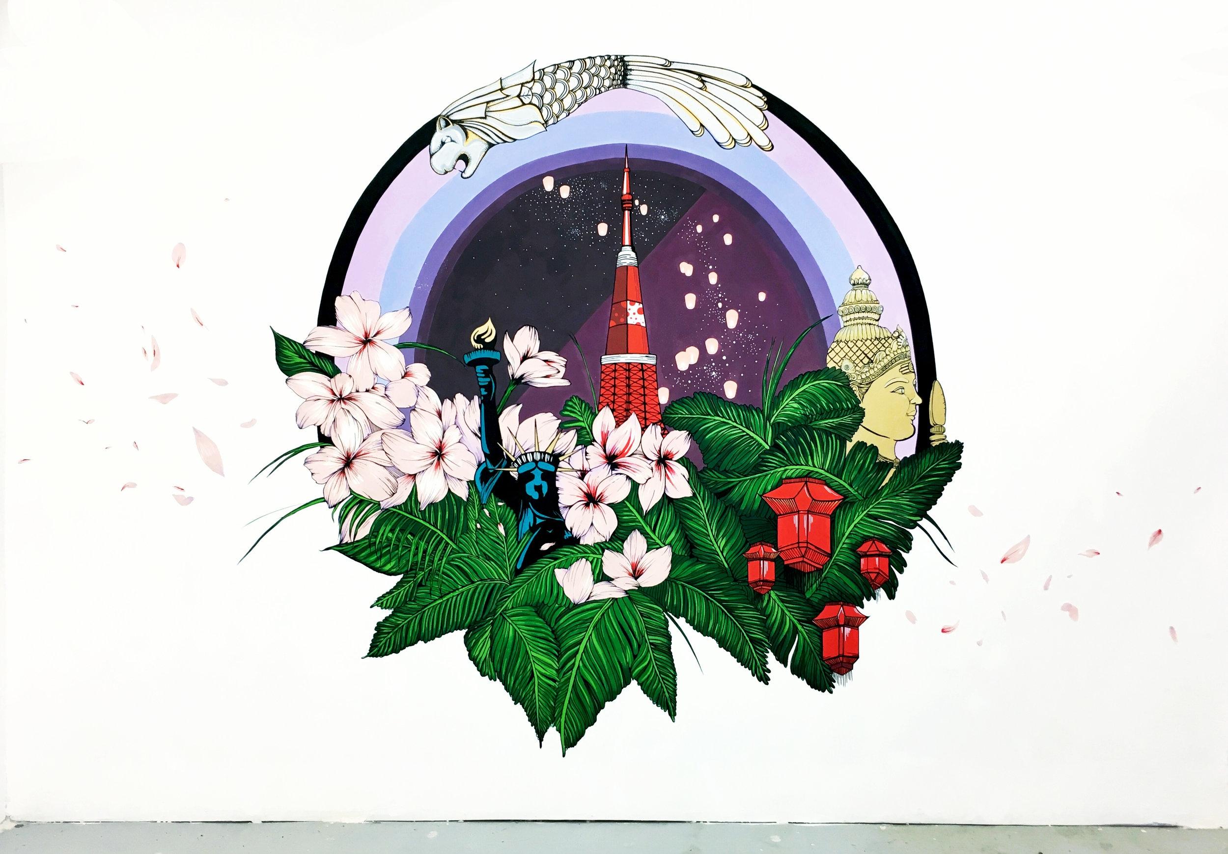 BuyandShip Mural