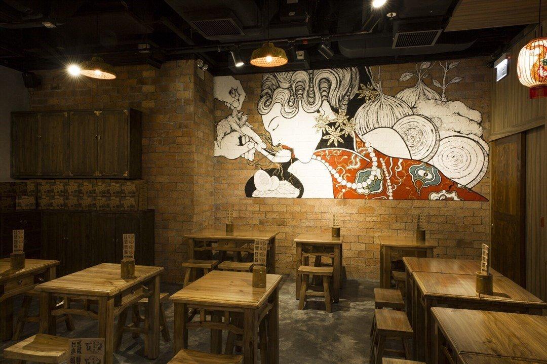 Restaurant Mural - Long Feng Hao (龍鳳號)