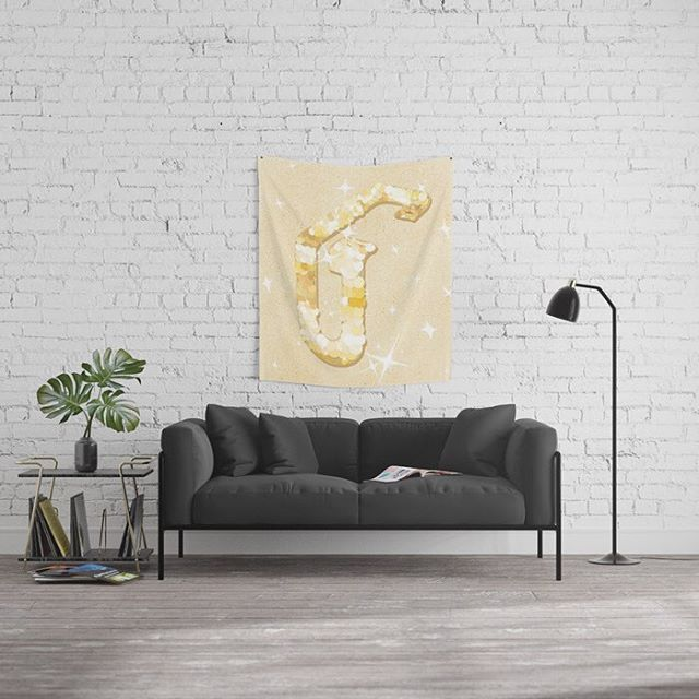 ✨G ✨  . Incorporating with sequins and glittering effect drawn in @procreate . Art print On @society6 shop now @neillhw #society6art #society6 #artprint - - -#illustration #procreate #painting #drawing #wallart #homedecor #urbanwalls #urbanart #decor #decoration #artdeco #art #typegang #goodtype #typography #typo #type #lettering #G #Shiny #glitter #trend #2018 #walldecor #home #office #restaurant