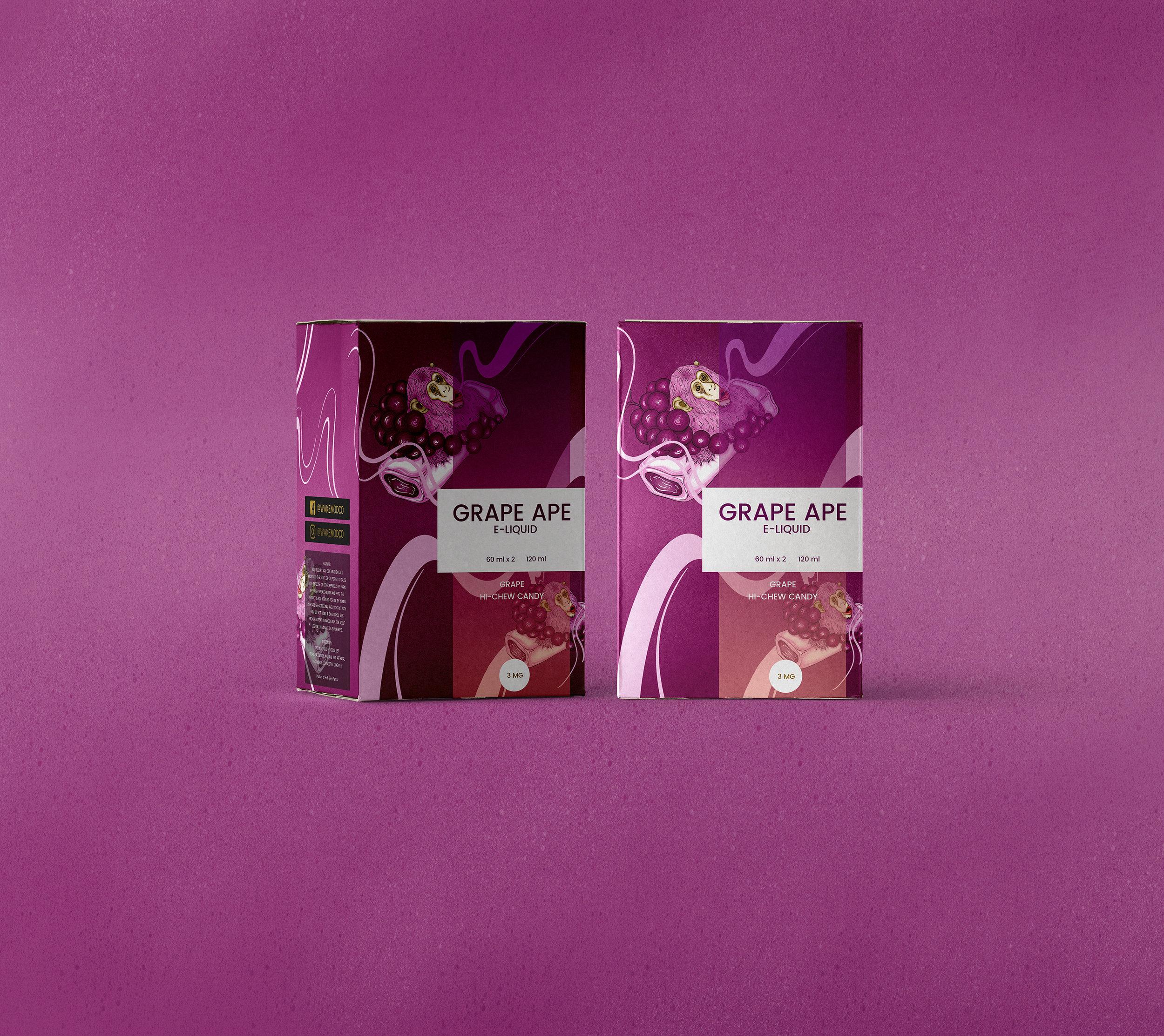 Grape Ape: Grape Hi-chew Candy