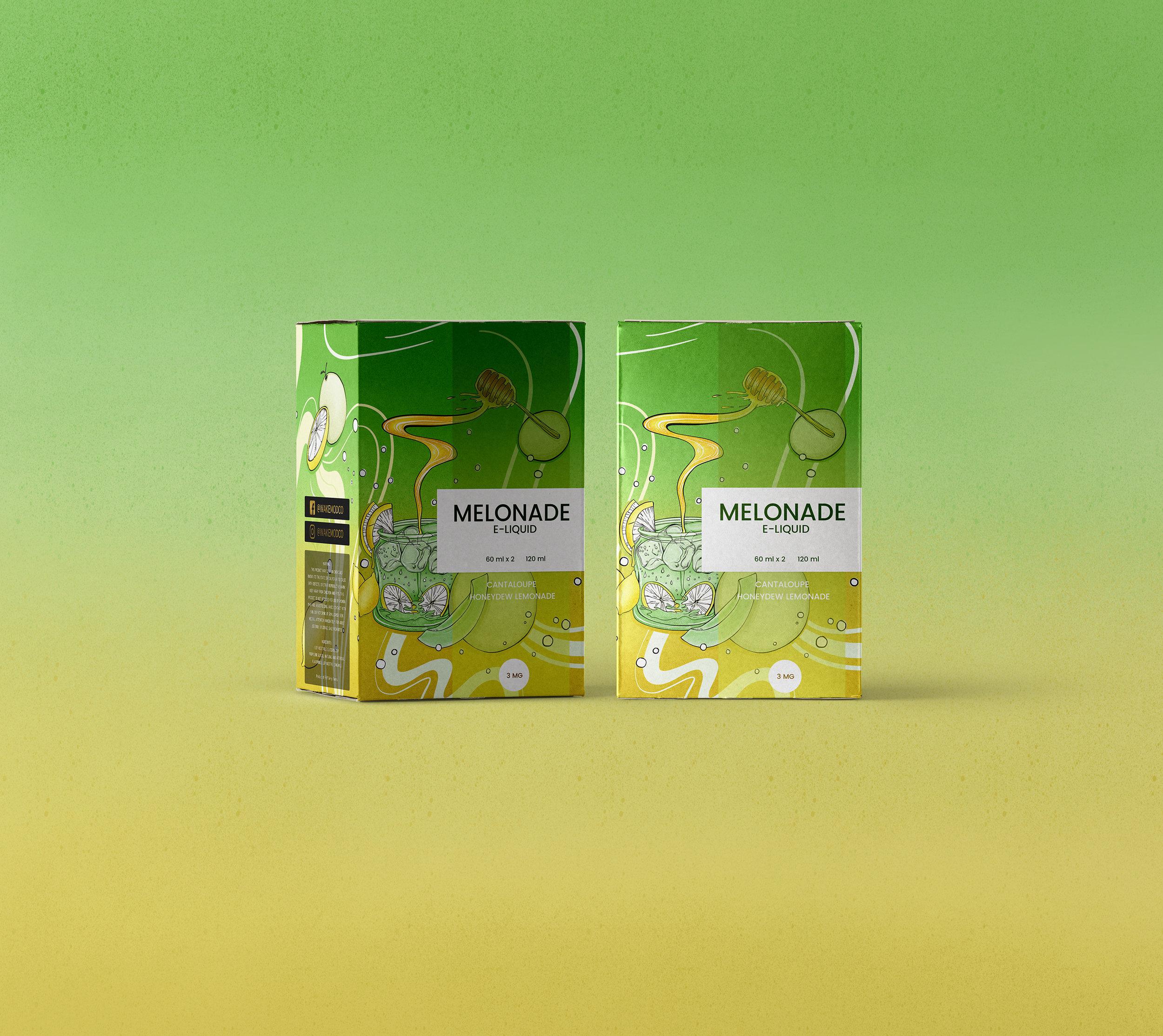 Melonade: Cantaloupe &Honeydew lemonade
