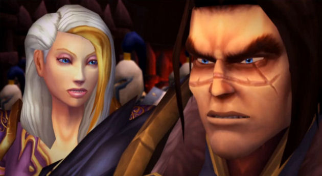 Jaina and Varian after Siege of Orgrimmar. Screenshot by Kiesha Richardson