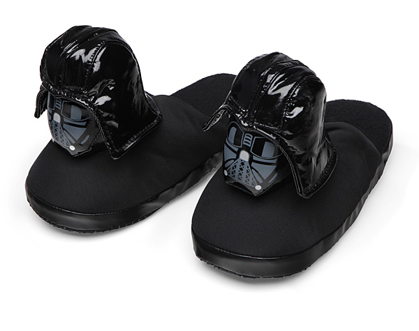 Star Wars Darth Vader Slippers - The dark side of comfort is much better than the light. Don't take our word for it. Try it out for yourself. Come on...*whispers, dark side*