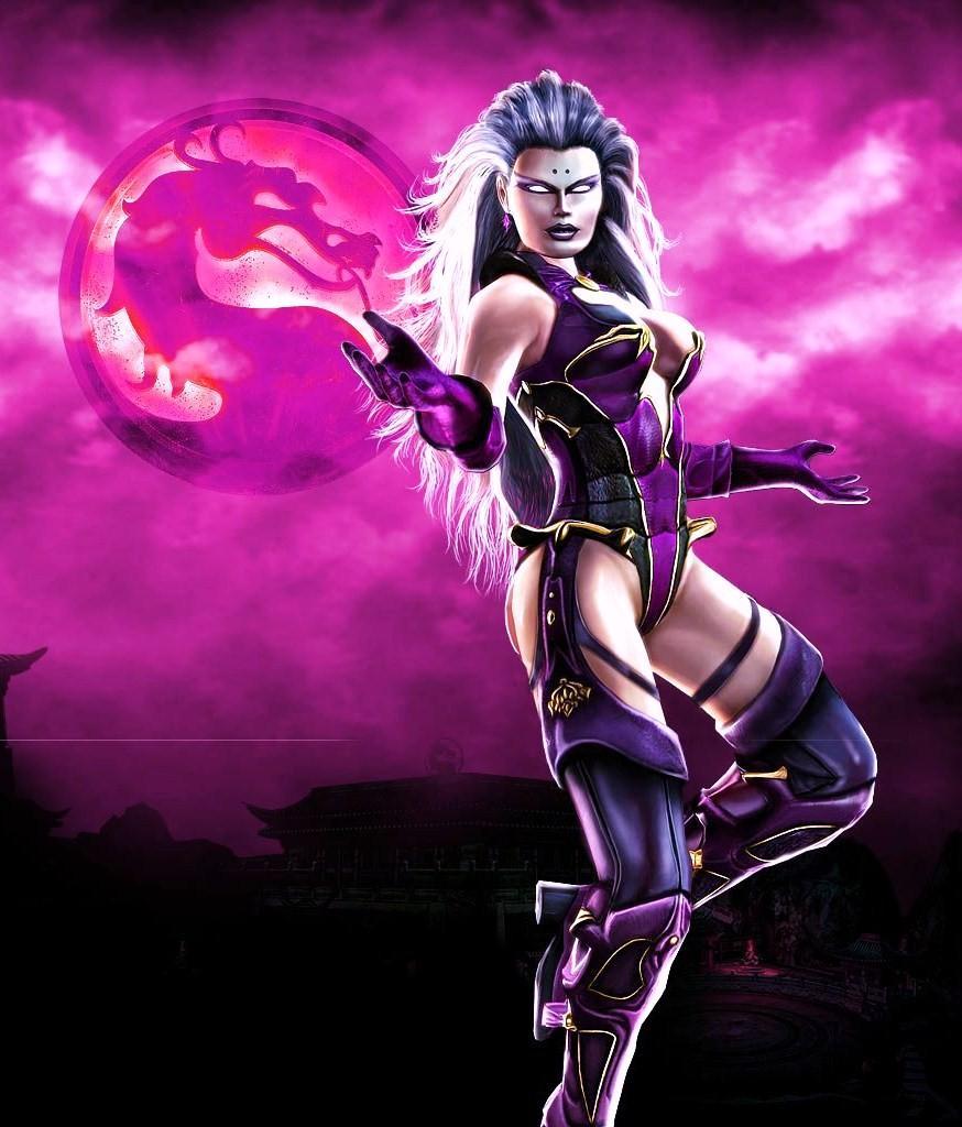 Sindel - mother of Kitana -Mortal Kombat