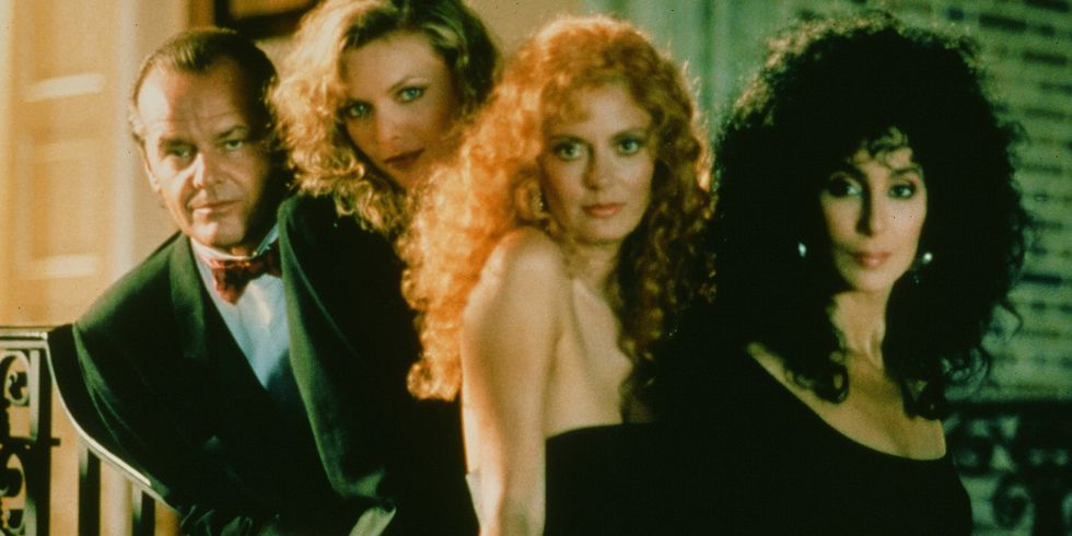Witches of Eastwick - This 1987 classic is about a warlock who breezes into town and seduces three friends while bringing their magical abilities to the surface.
