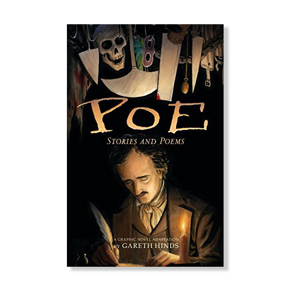 Poe: Stories and Poems - Are you insane with horribly long intervals of sanity? Bring yourself back into the world of Edgar Allan Poe with this graphic novel of 7 powerful stories and poems, a staple for any nerdy lady who enjoys gothic horror.