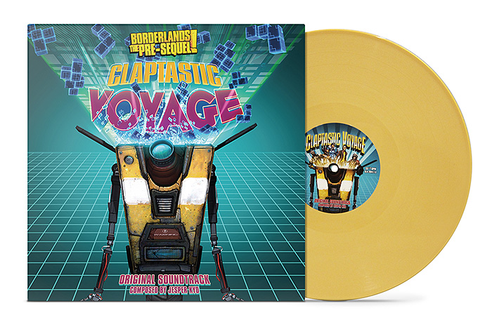 Borderlands: Claptastic Voyage - Exclusive Vinyl LP - We've all waited for it with bated breath, but here it is, Claptrap's new dubstep song that he wrote. This exclusive vinyl comes with 10 tracks of the greatest wub wubs this side of Pandora can offer! Originally composed by Jesper Kyd but don't tell Claptrap that.