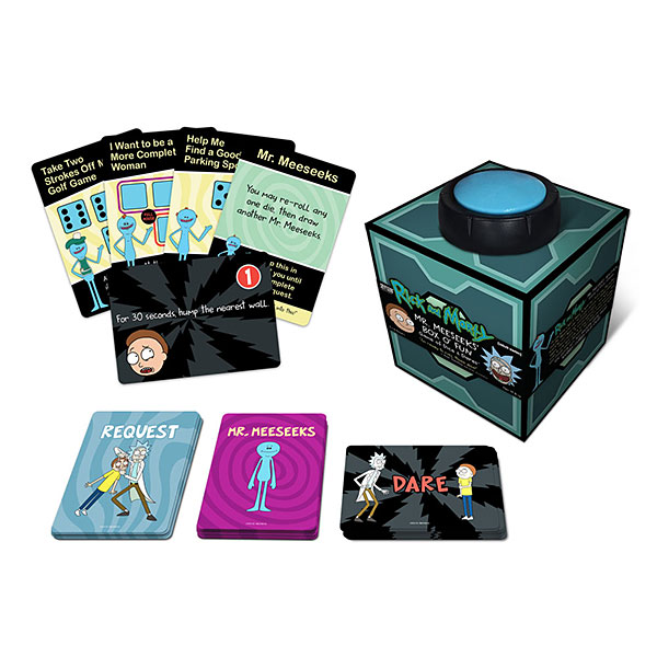 Rick and Morty Mr. Meeseeks' Box of Fun Game -