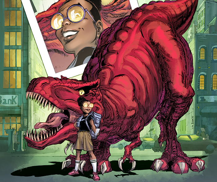 Moon Girl - Lunella Lafayette is a 9-year-old genius. According to Marvel, Lafayette, aka Moon Girl is the smartest person in the Marvel Universe.