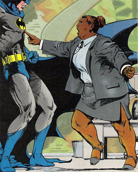 Amanda Waller - Is she good or evil? Hero or villain? We don't know for sure.