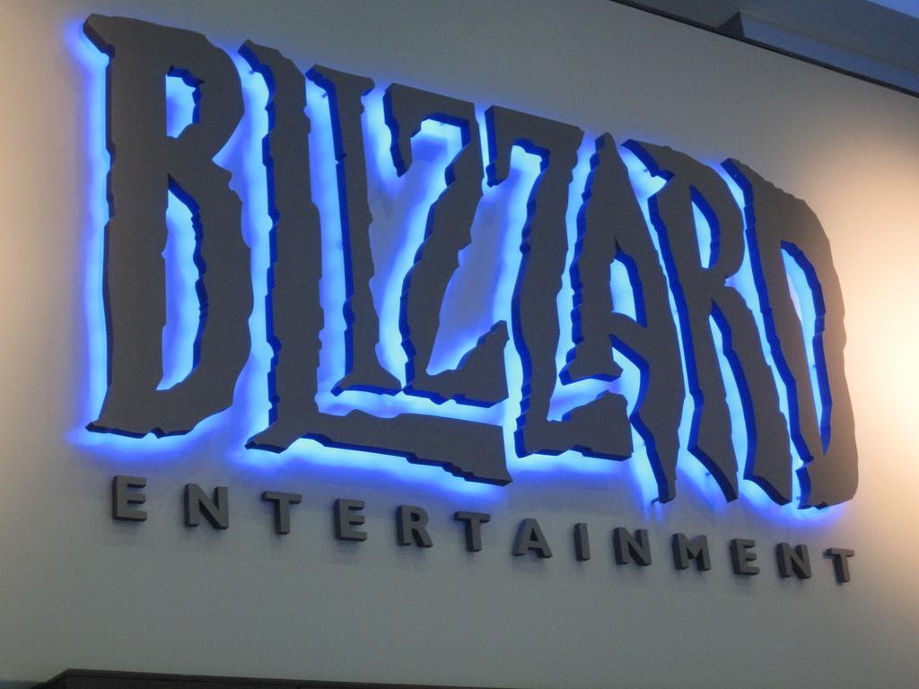 Reception hall at Blizzard Entertainment  Source: Kenji Yamaguchi