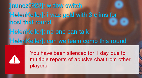 Being Silenced