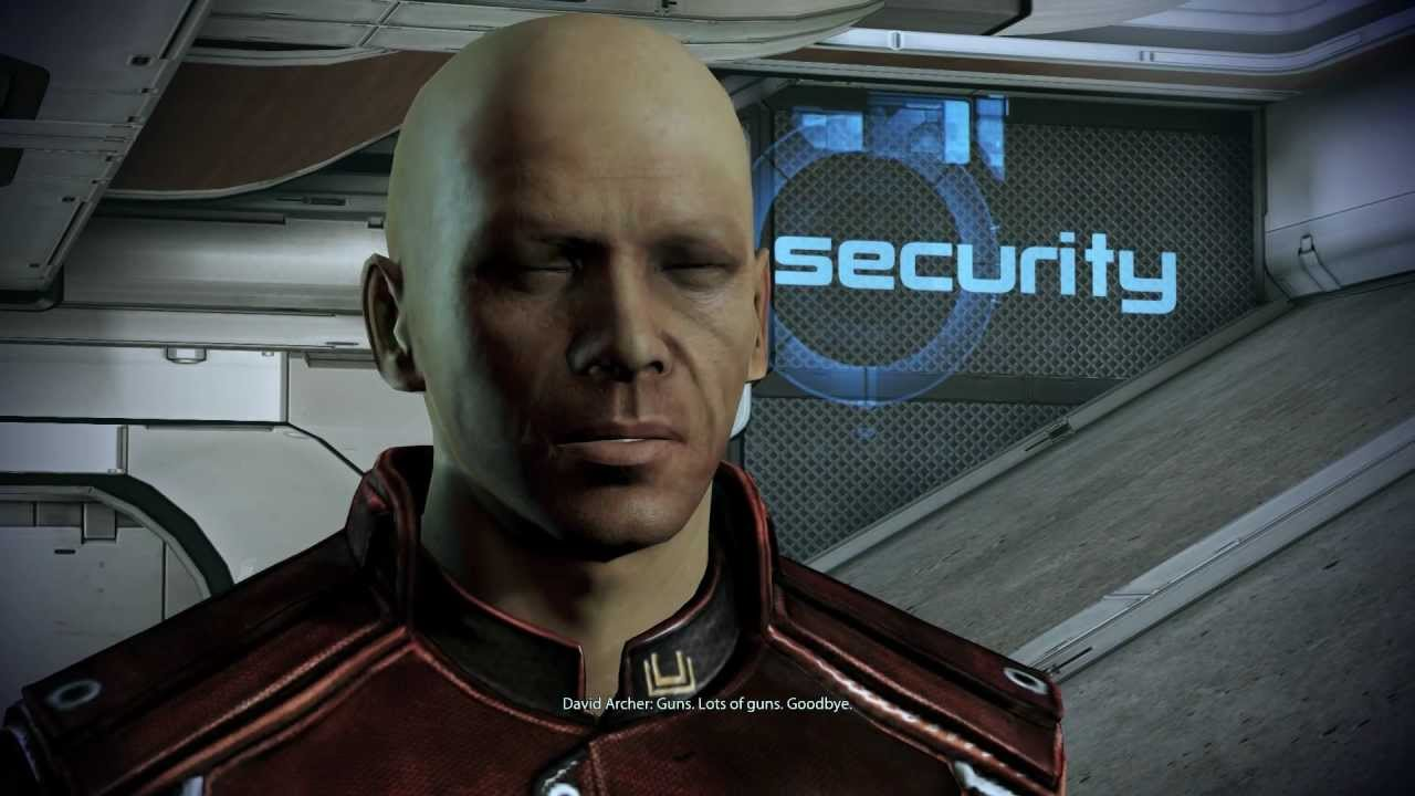 David Archer - Mass Effect 2 and 3