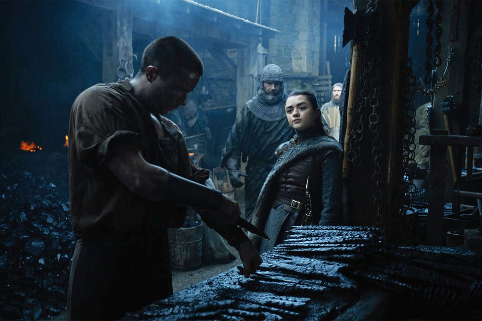 Arya and Gendry - HBO