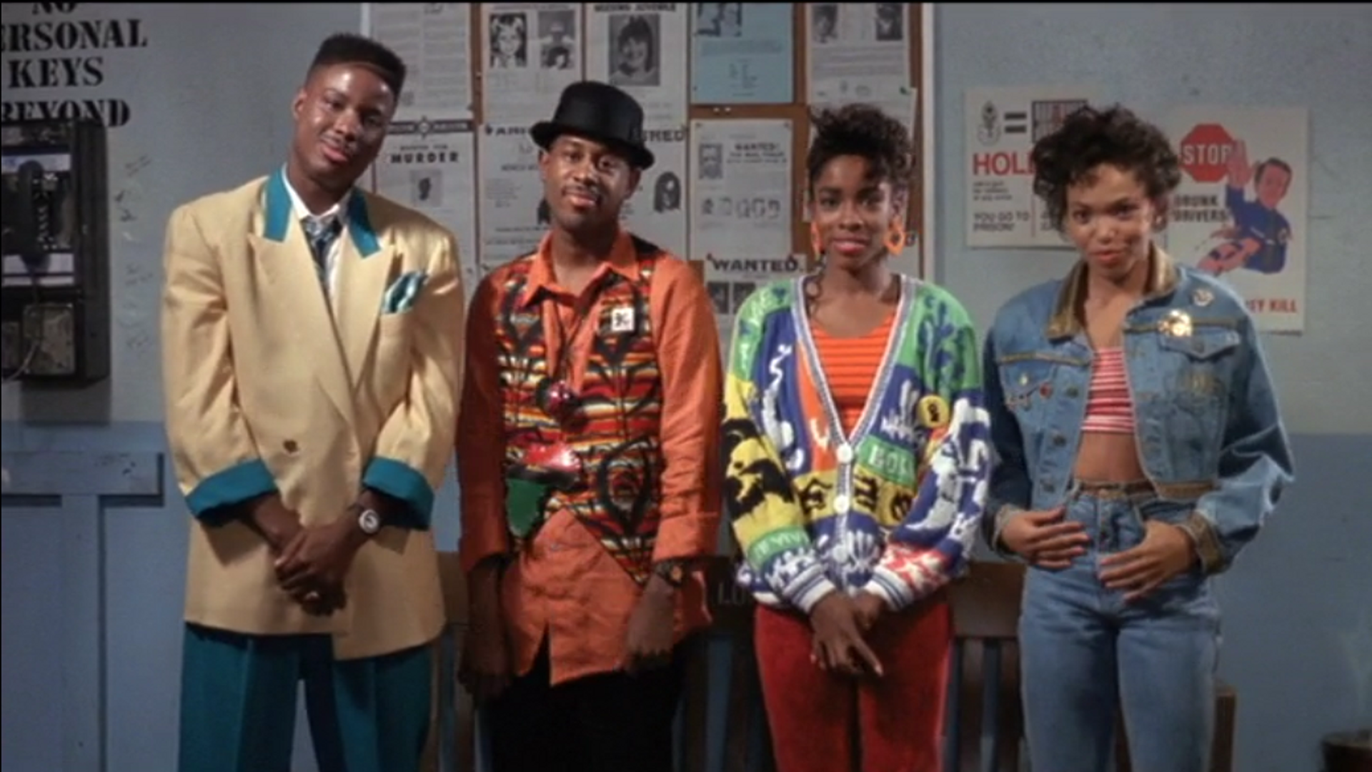 House Party - 1990 - Hilarious classic party film. Black kids being allowed to be Black kids and have fun without having to the funny side kick friend to a White protagonist.