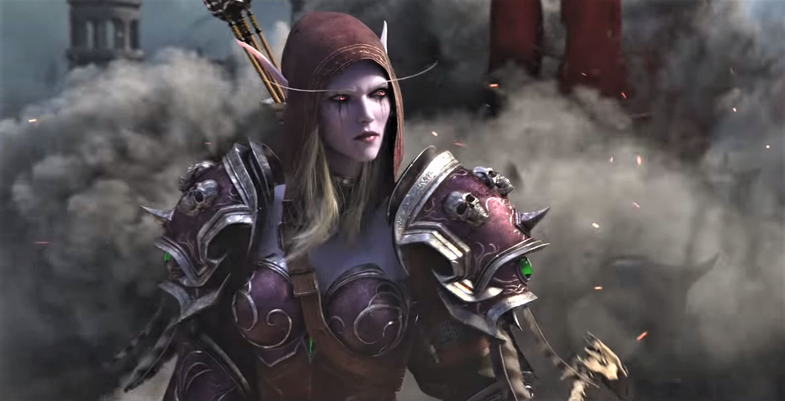 Cinematic still from World of Warcraft: Battle for Azeroth