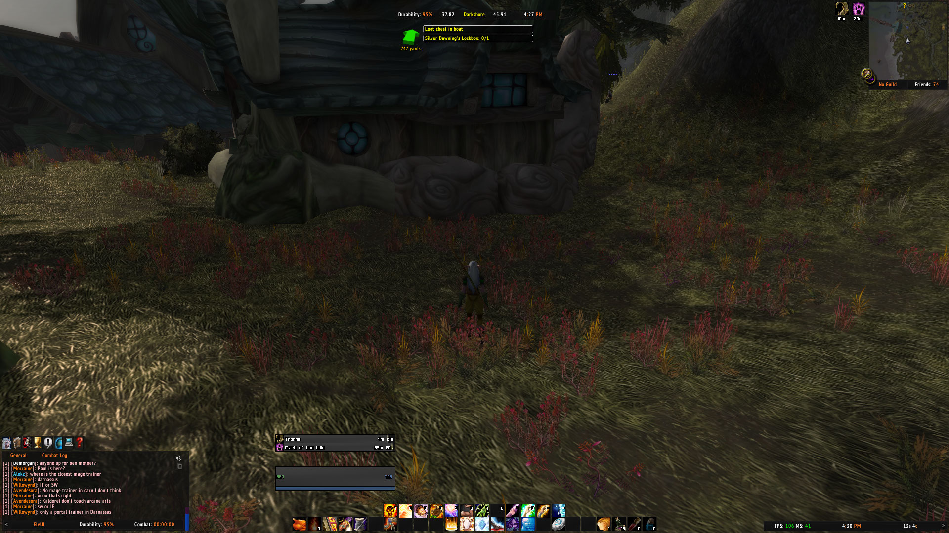 Azeroth Auto Pilot addon - Right Way = Green Arrow