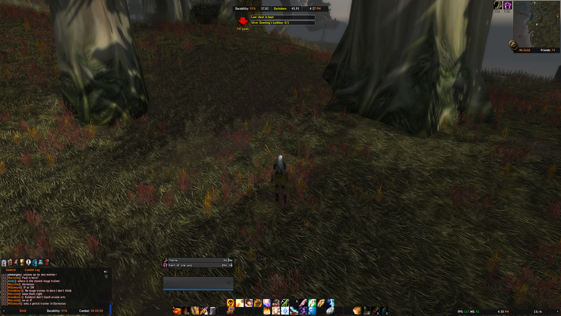Azeroth Auto Pilot addon - Wrong Way = Red Arrow