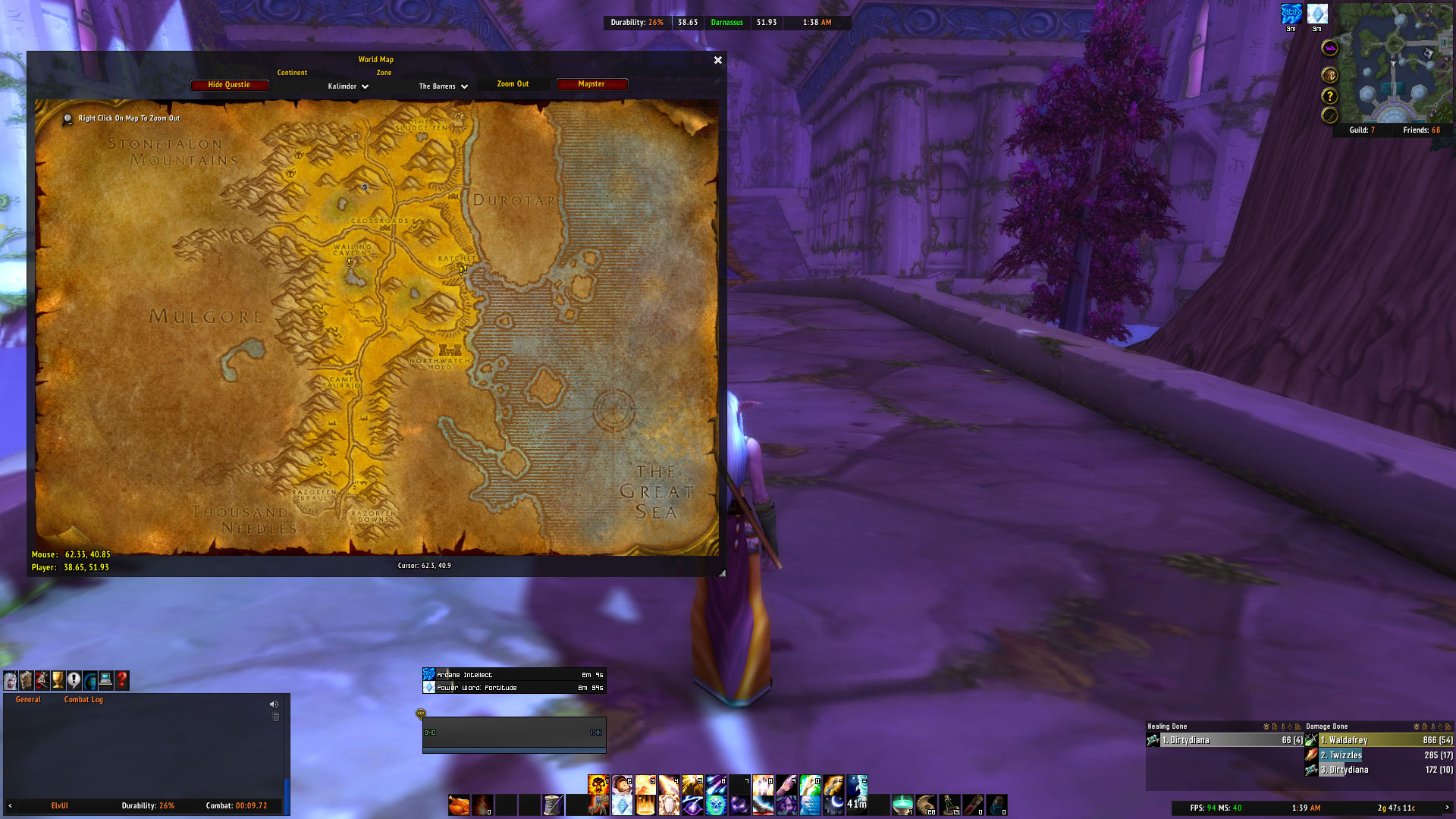 Mapster Addon for Classic WoW