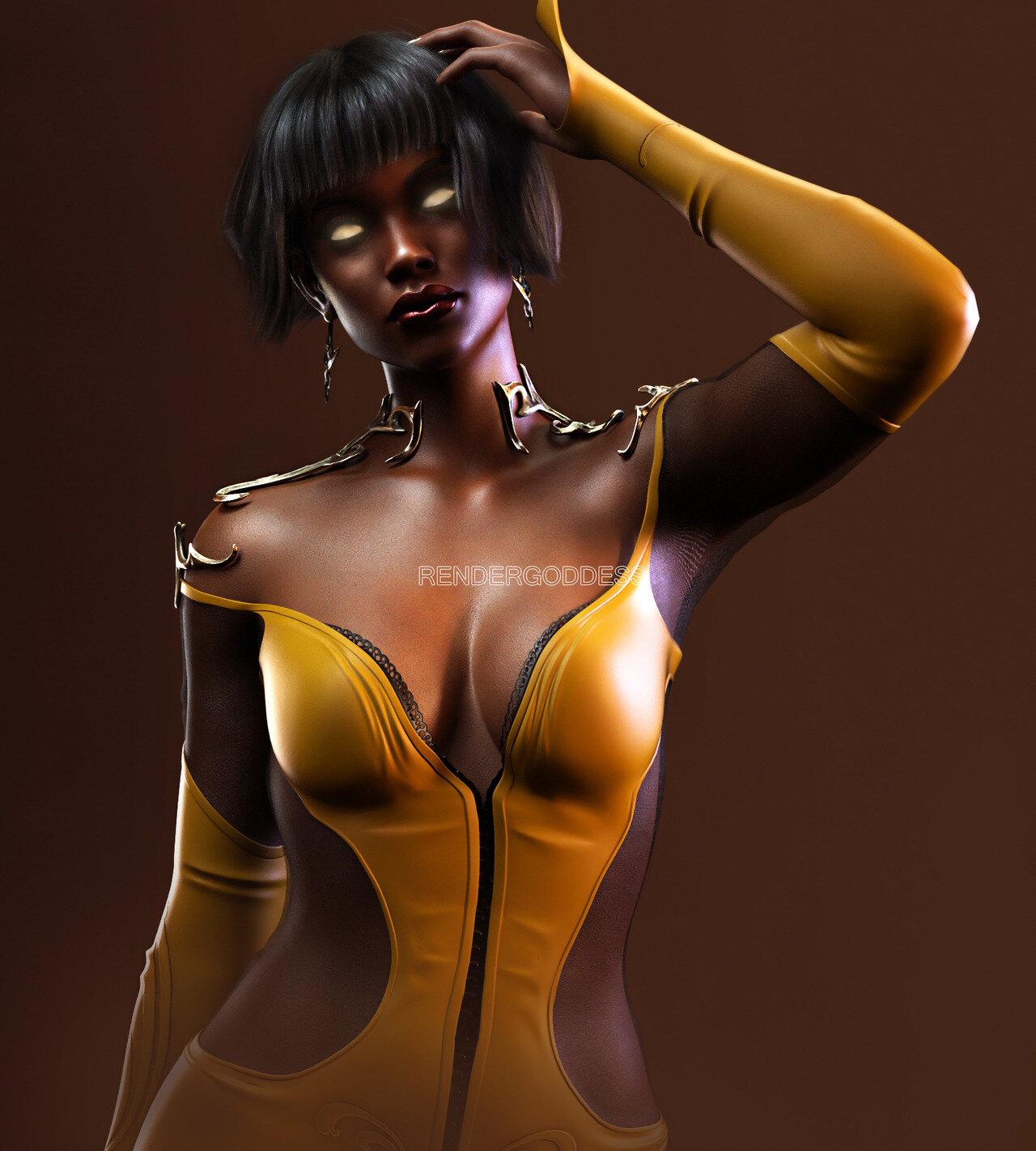 Tanya from Mortal Kombat