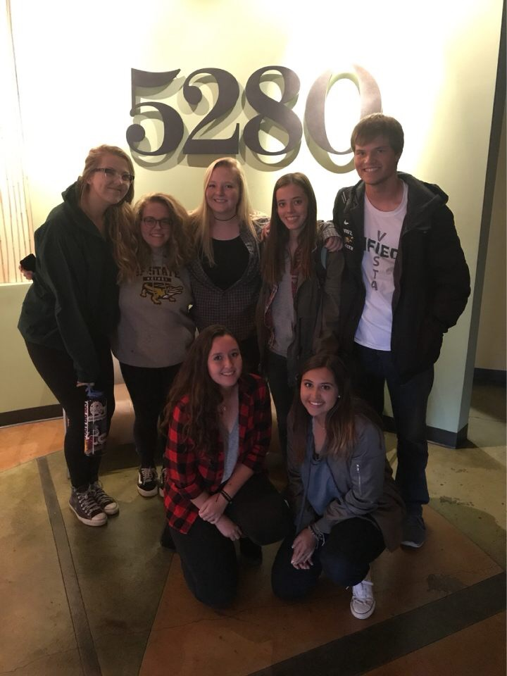MV Media editors at the 5280 Magazine office in downtown Denver.