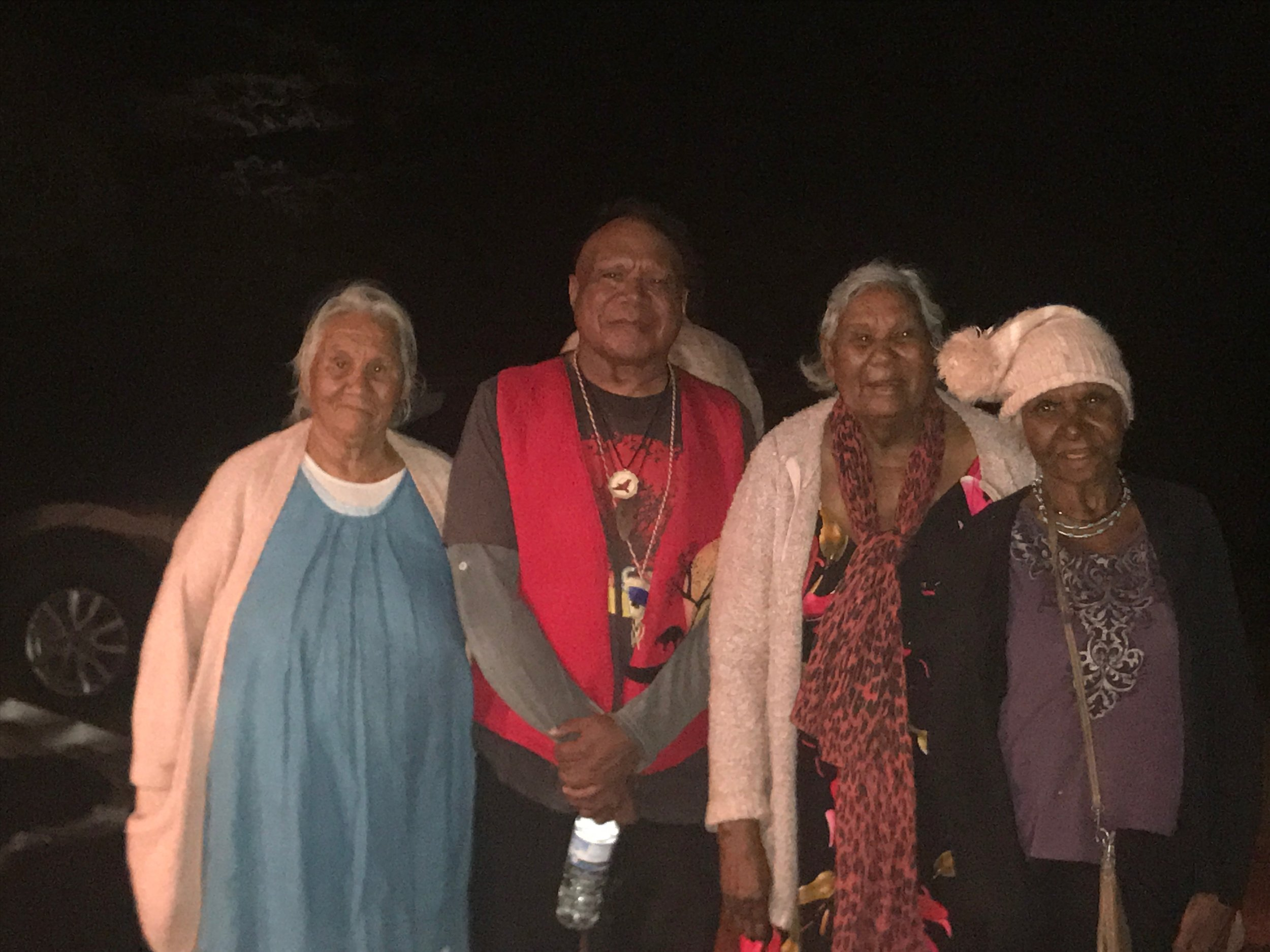 Archie meets community elders