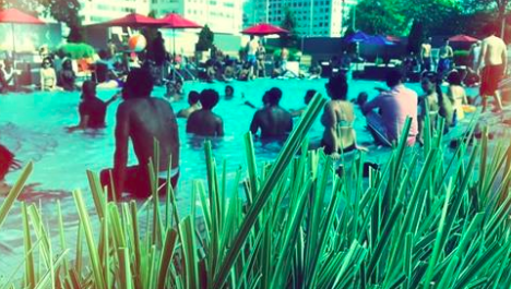The singles pool scene: It's like a club, only wetter  How do you hit on someone who's nearly naked? Make a splash.