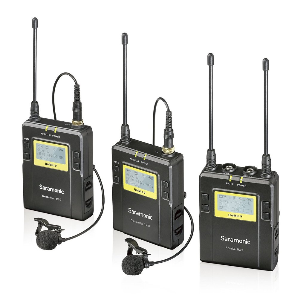 UHF Wireless Microphone with2 Transmitters -