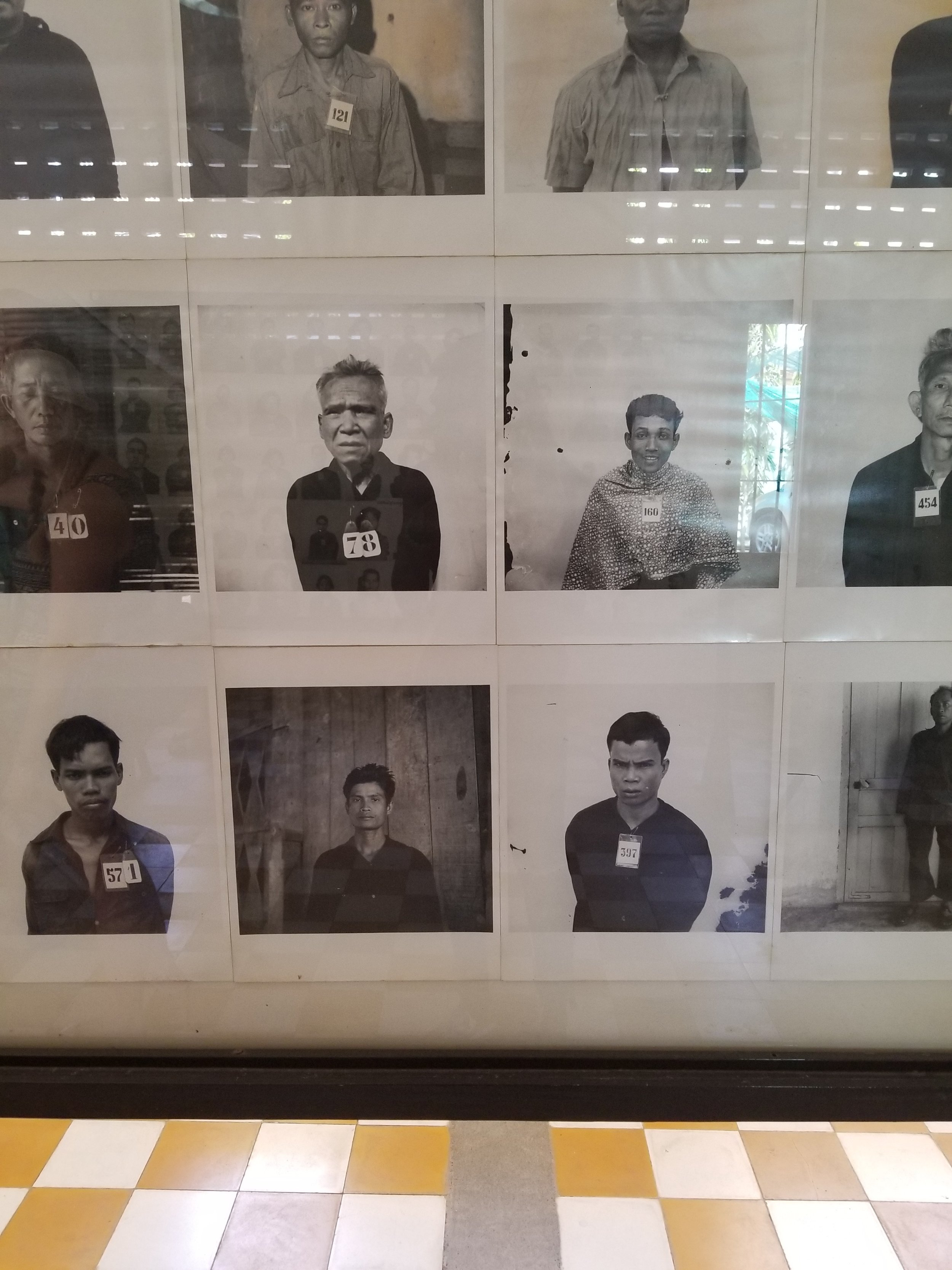 Wall of S-21 Intake Photos