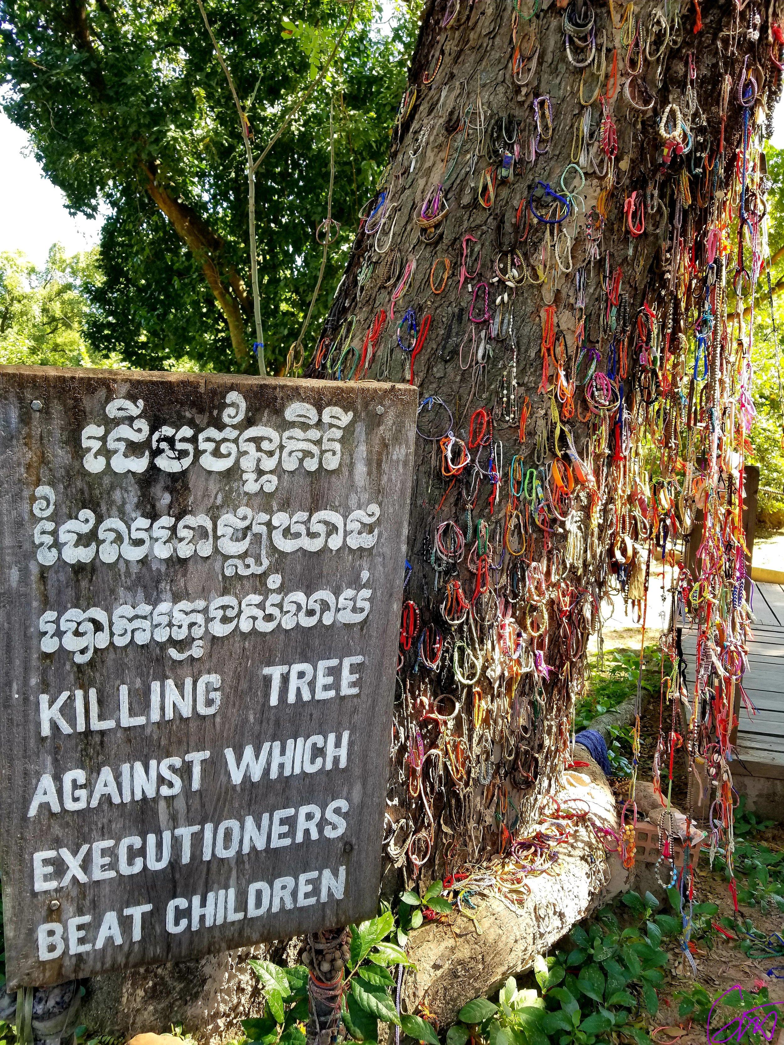 The Killing Tree, Phnom Pen. Photo Courtesy of Jasmine Thurston