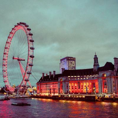 The London Eye. London, United Kingdom.