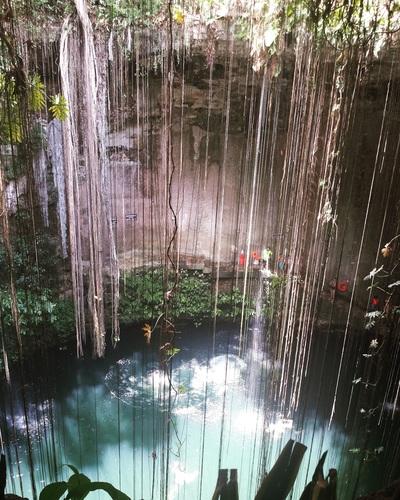 Ik Kil Cenote. Mexico.