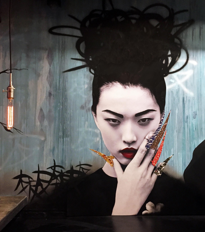 09 Geisha 2015 1 Tomo Ottawa part of a 65' wall mural mixed media.jpg