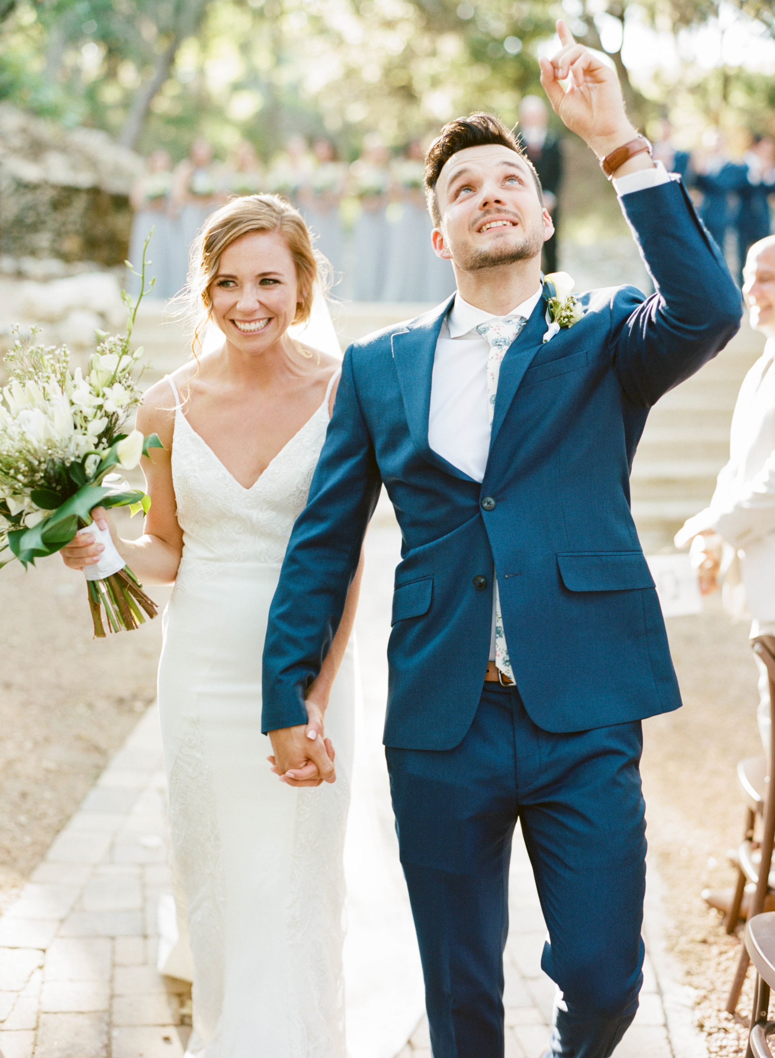 Hill Country June Wedding