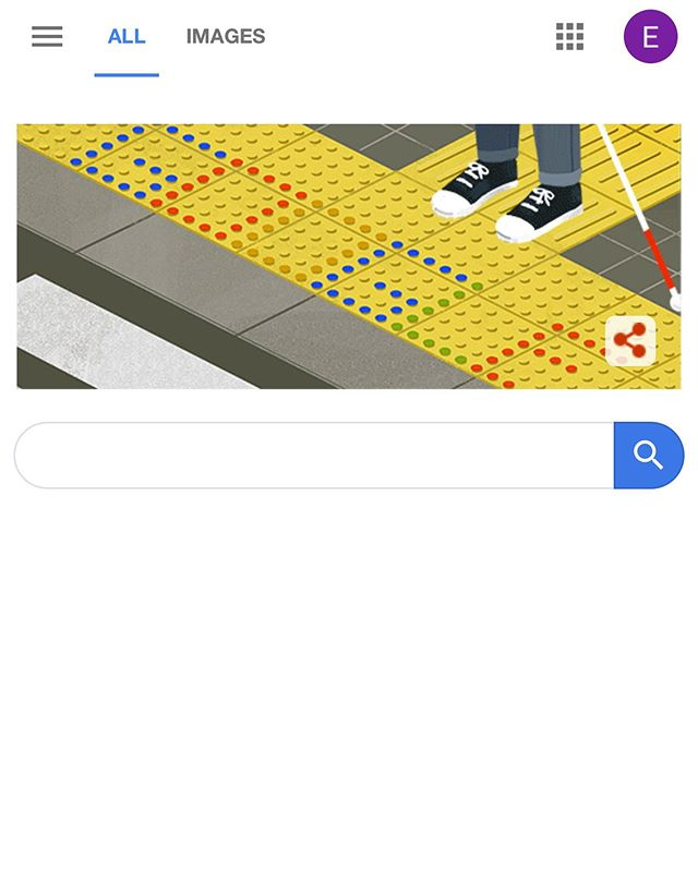 Today's Google Doodle celebrates Japanese inventor Seiichi Miyake, who in 1965 invented tactile blocks for the vision impaired. https://g.co/doodle/twjkky #tactileblocks #visionimpaired #visionaustralia #allabilities #seetheable #seiichimiyake #googledoodle #google #allabilitiescentre #pitenpin #bowlopolis #gippsport #scopeaustralia #interchangeaustralia #connecting2australia