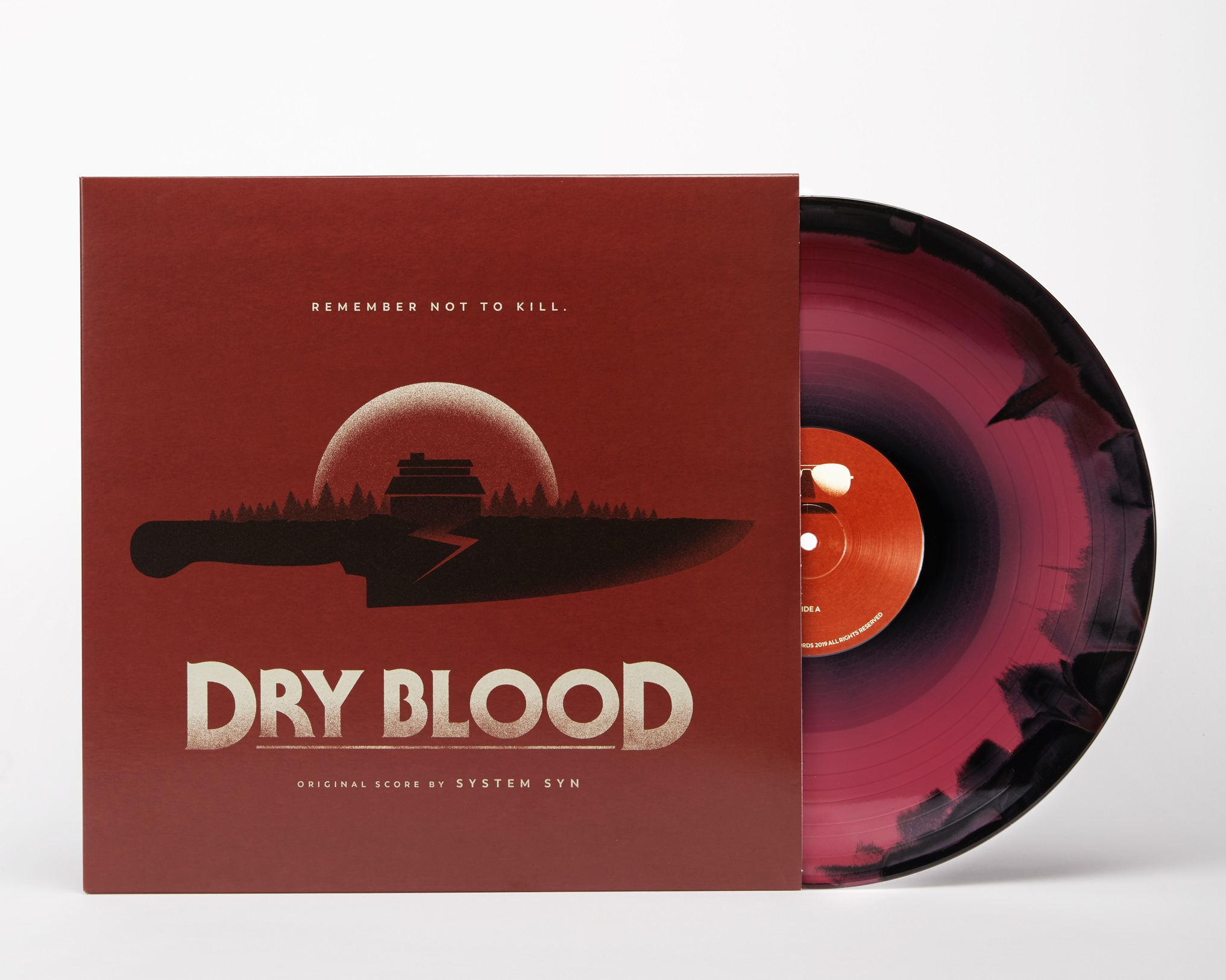 System Syn - Dry Blood Original Motion Picture Soundtrack - Vinyl —  burningwitchesrecords