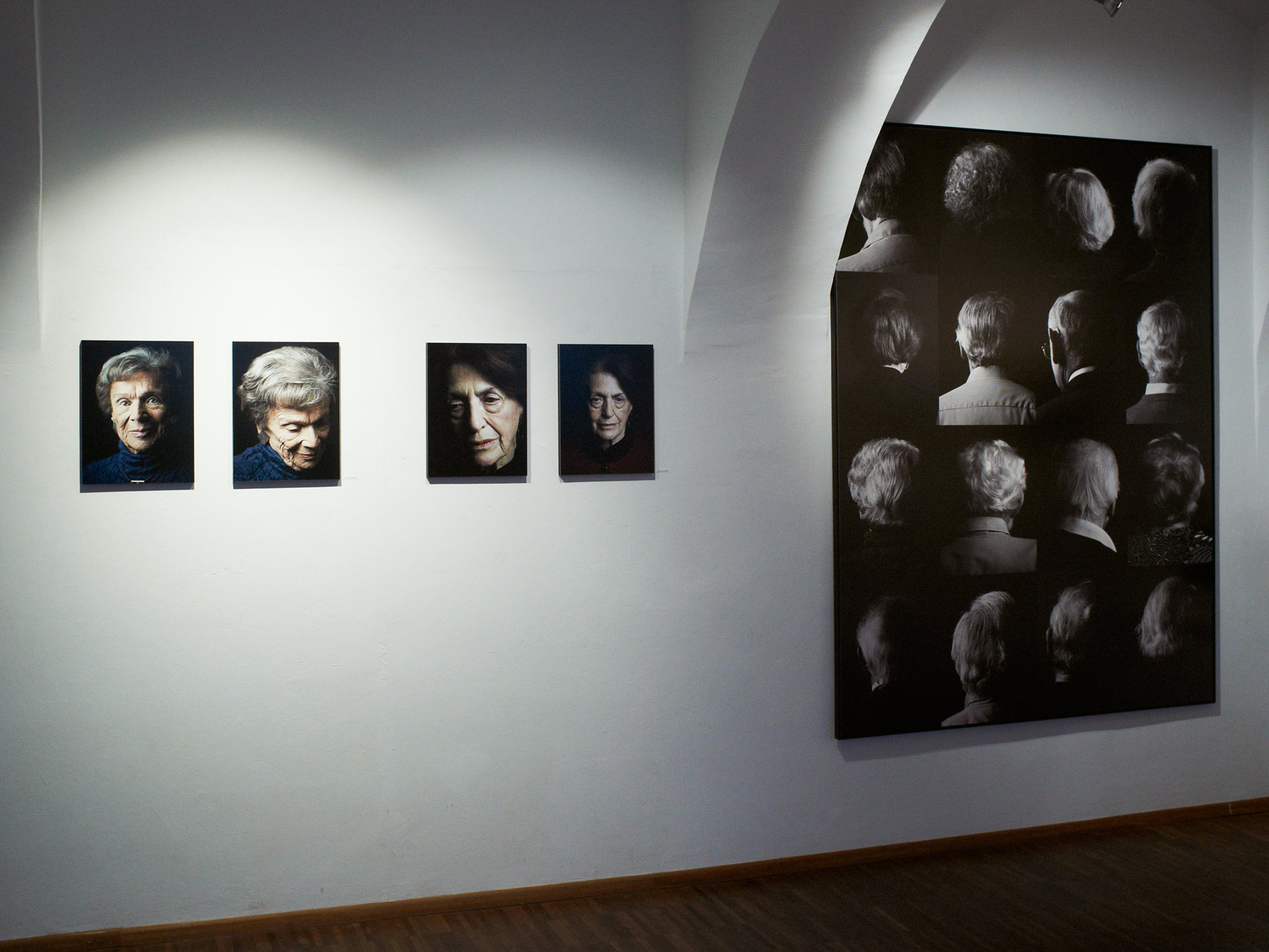 "2014/11 solo exhibition ""Witness""- Realities of Forced Emigration, 1938-45, West 46 Galerie, Wien"