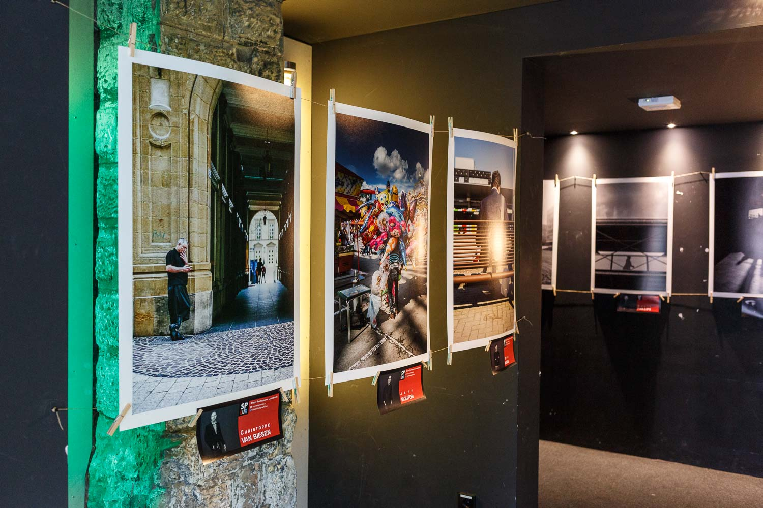 Exhibition at the Luxembourg Street Photography Festival 2017 at the Rotondes