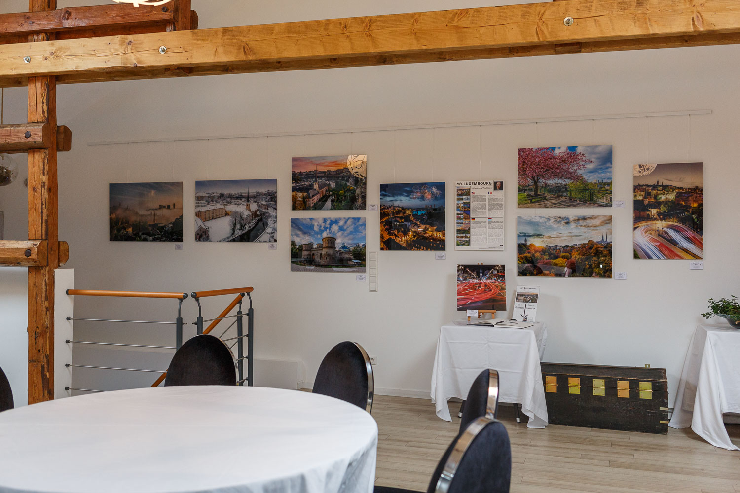 Photography exhibition at the Yves Radelet in Drauffelt in the North of Luxembourg - Photography by Christophe Van Biesen - Landscape and Travel Photographer from Luxembourg