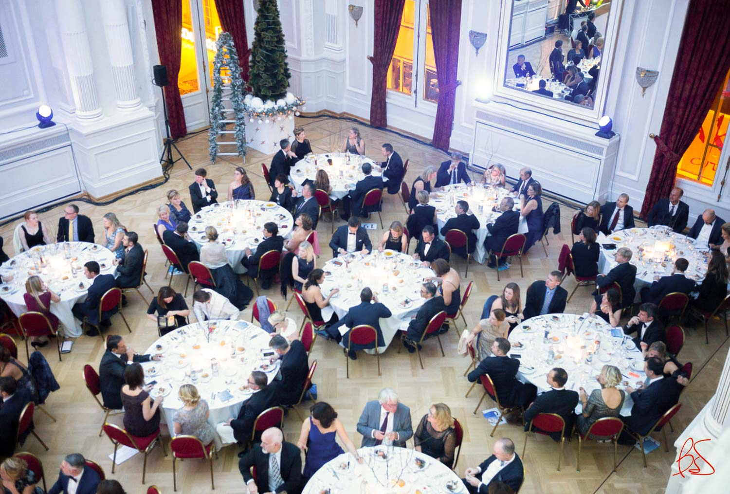 Make-A-Wish Luxembourg Winter Wonderland Gala and Auction 2016 at Cercle Cité in Luxembourg City