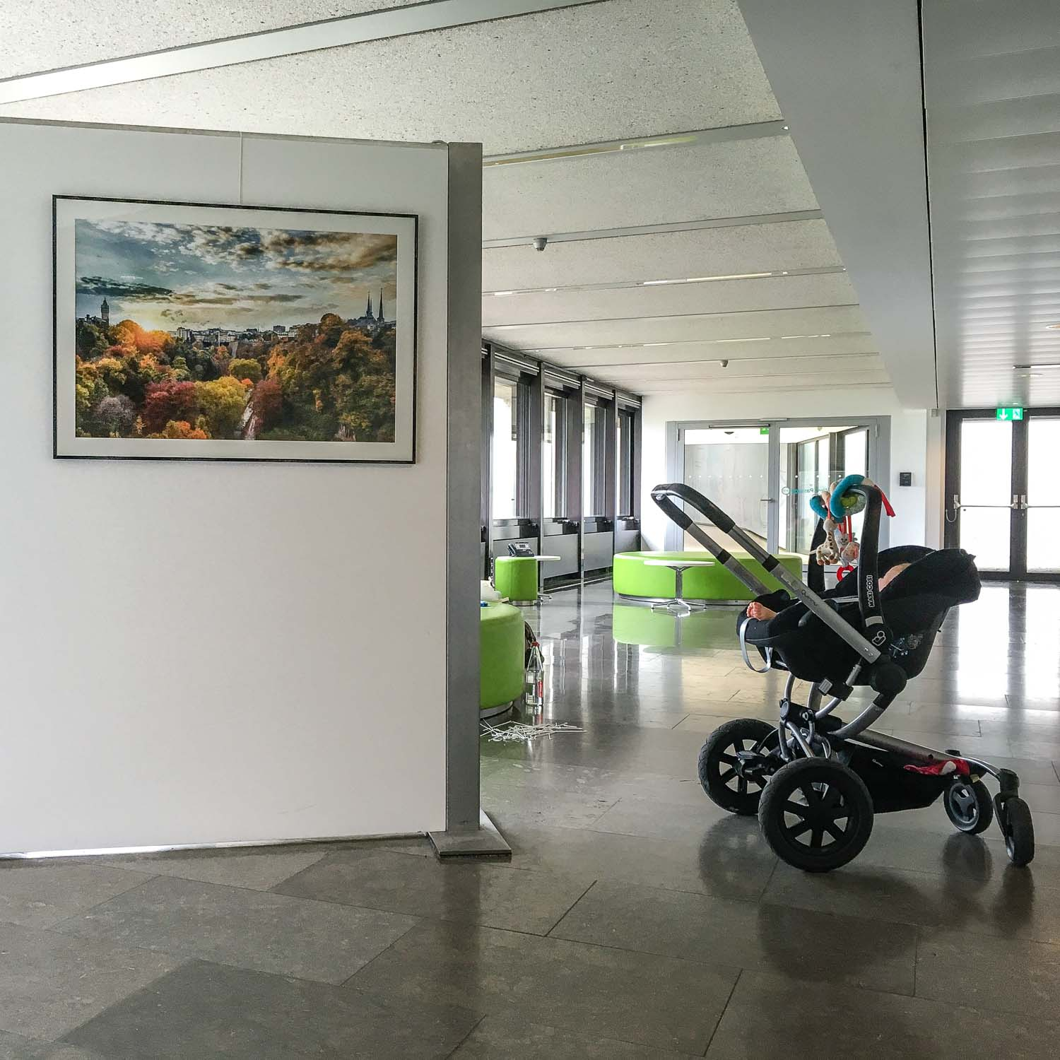 My Luxembourg photography exhibition by Christophe Van Biesen at the European Investment Bank in Luxembourg City