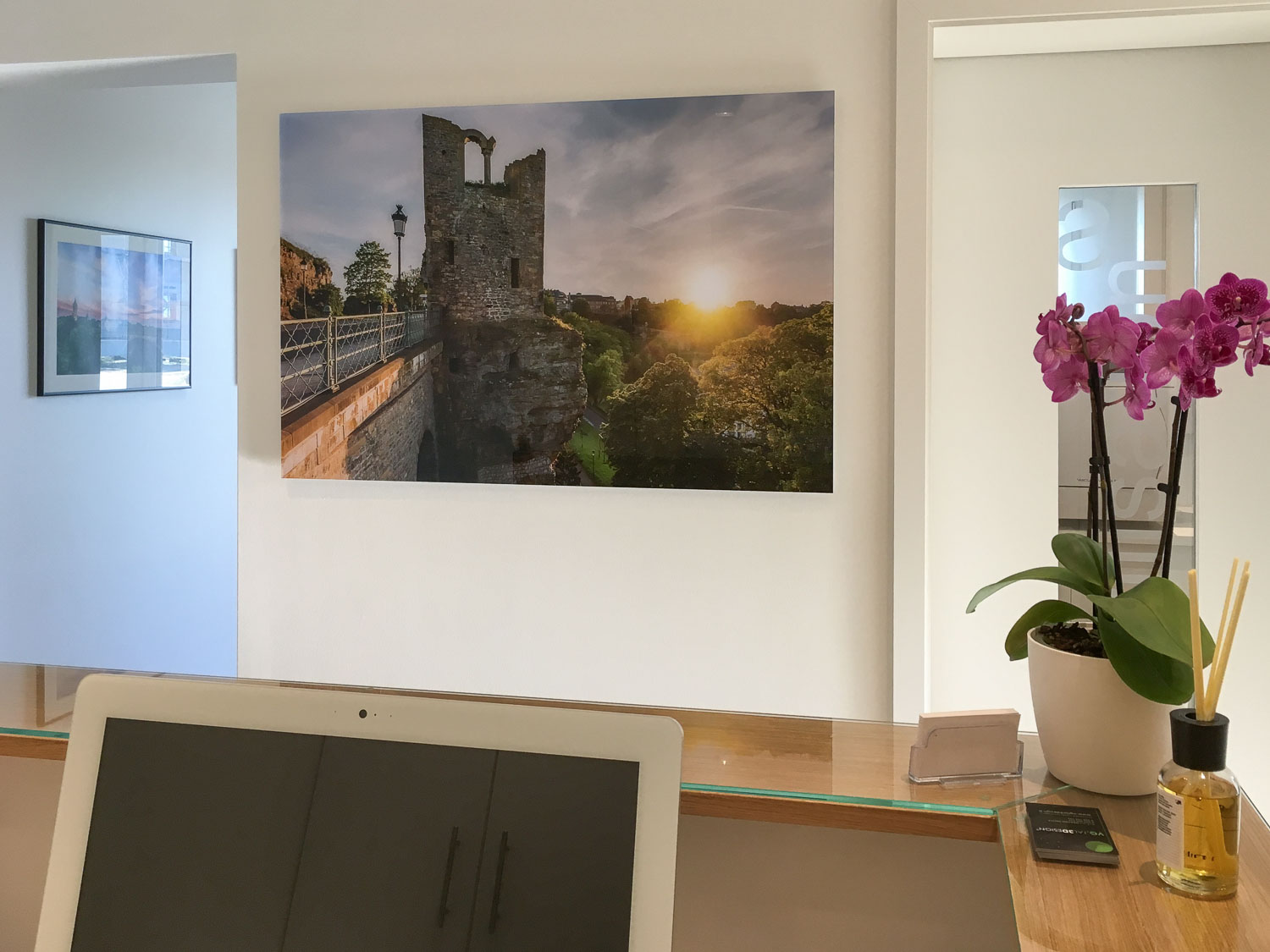 Exhibition at the Klemmer and Benabadji Dental Practice in Mamer - Photography by Christophe Van Biesen - Landscape and Travel Photographer from Luxembourg