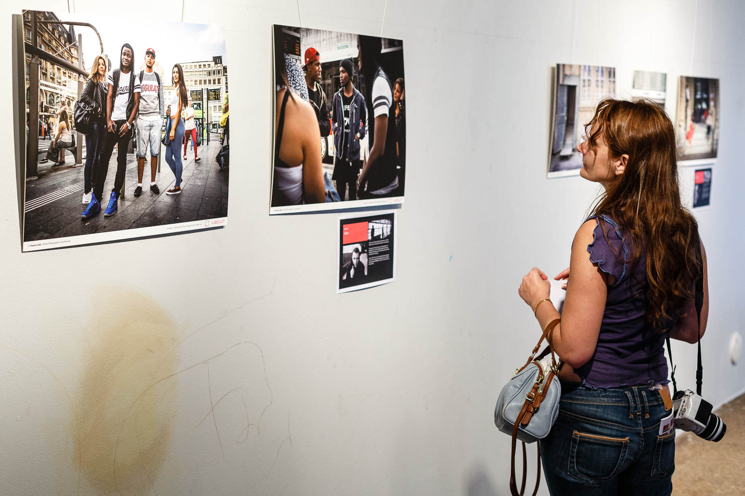 Collective exhibition by Street Photography Luxembourg at KUFA Kulturfabrik in Esch-sur-Alzette