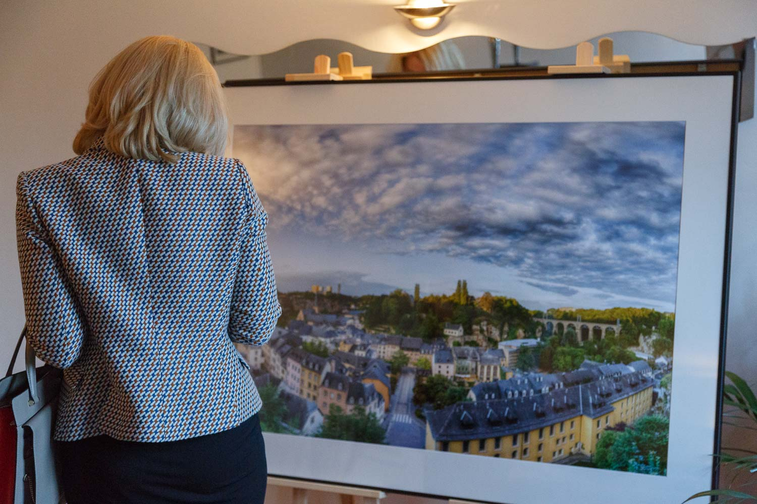 First solo exhibition by Luxembourg Landscape Photographer Christophe Van Biesen at the Brasserie Beim Siggy in Luxembourg City