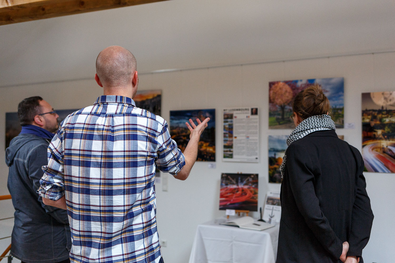 Photography exhibition at the Yves Radelet in Drauffelt in the North of Luxembourg - Exhibition at the Yves Radelet - Photography by Christophe Van Biesen - Luxembourg Landscape and Travel Photographer