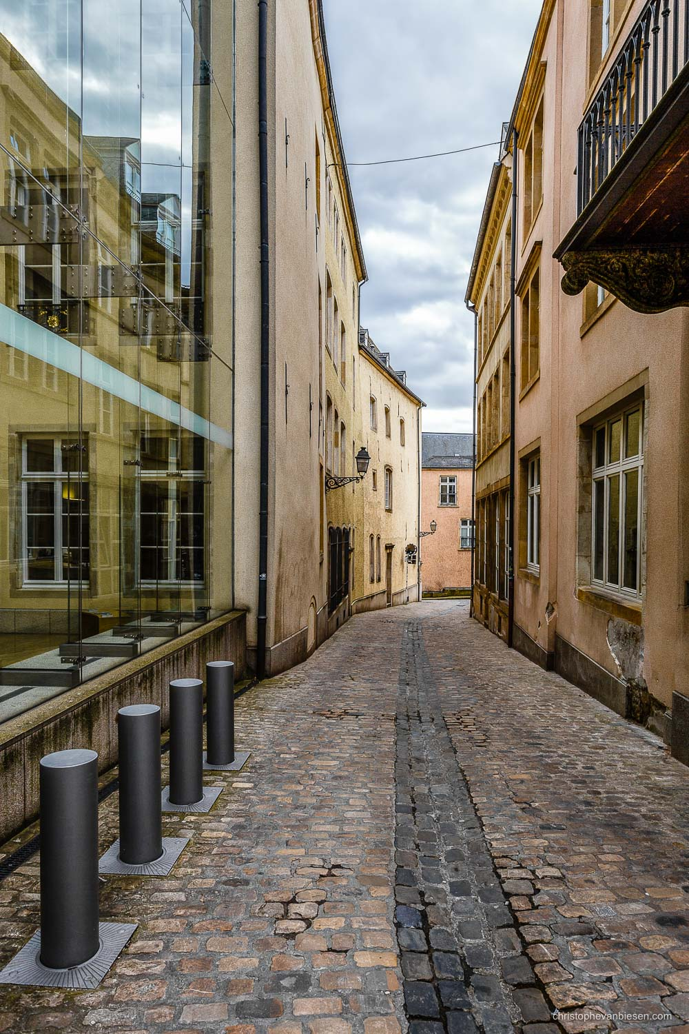 Narrow Streets of Luxembourg City - Rue du St-Esprit in Narrow Streets of Luxembourg City - The Narrows II