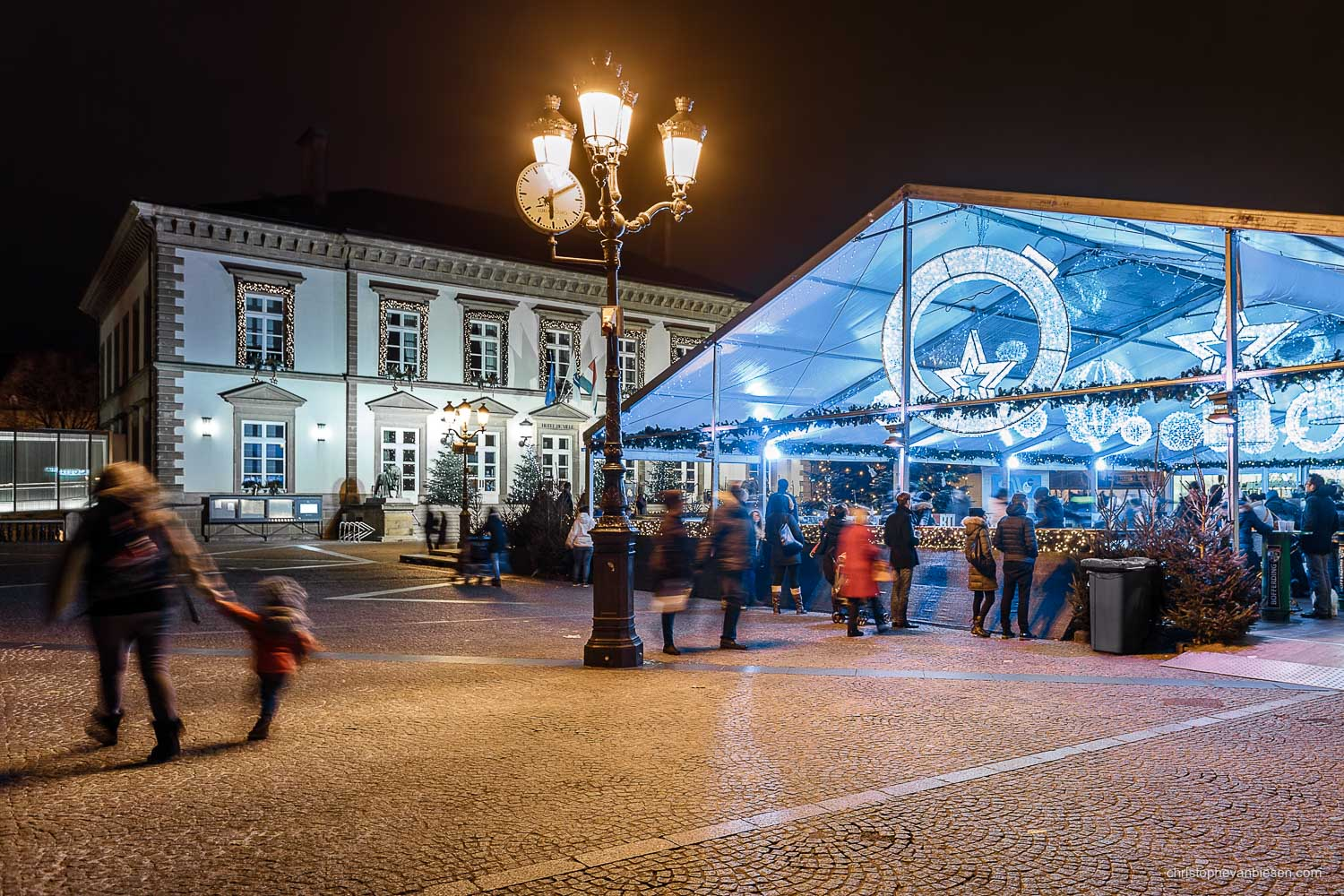 Christmas in Luxembourg - Christmas market in Luxembourg has a new ice rink attraction - Luxembourgers on Ice
