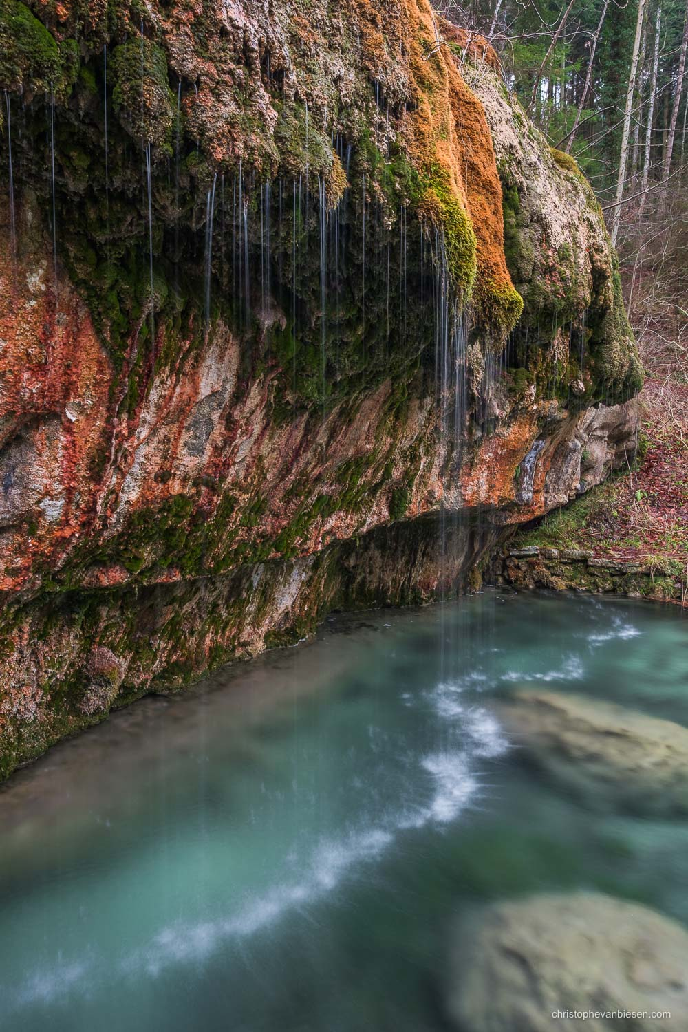 Photography Workshop Mullerthal - Luxembourg - Waterfall in the Mullerthal, Luxembourg's Little Switzerland - Crystal Pool