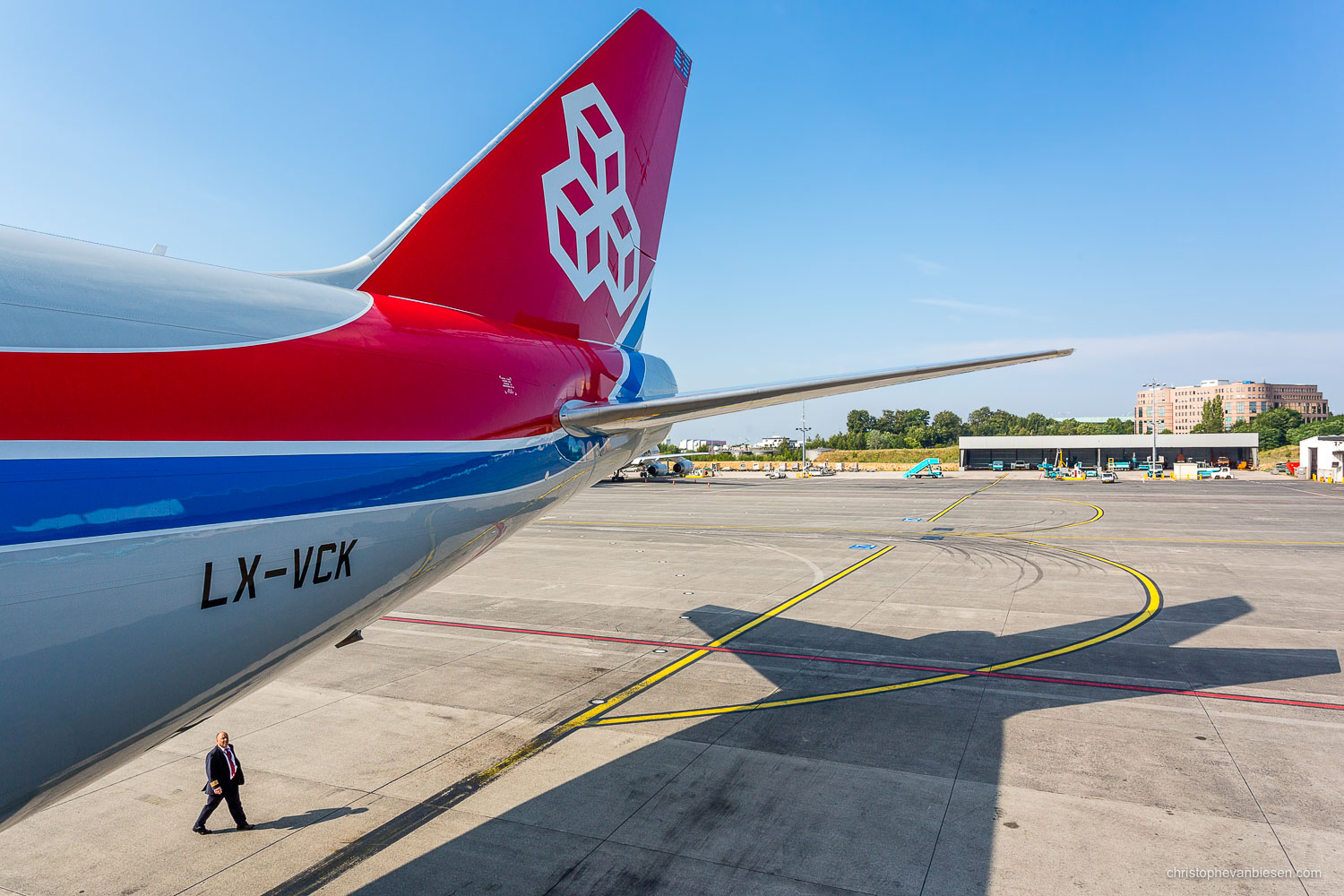 Work with me - Commission Work - Boeing 747 of Luxembourg's Cargolux fleet - Pilot - Photography by Christophe Van Biesen - Luxembourg Landscape and Travel Photographer